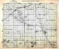 Jackson County Index Map, Jackson County 1954