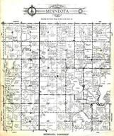 Minneota Township, Pearl Lake, Little Spirit Lake, Loon Lake, Rush Lake, Jackson County 1954