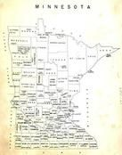 Minnesota State Map, Jackson County 1954