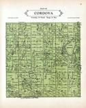 Cordova Township, Goose Lake, Bossout, Gorman, Volney, Sleepy Eye, Le Sueur County 1928