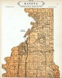 Kasota Township, Lake Washington, St. Peter, Lake Emily, Le Sueur County 1928