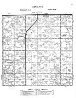 Ash Lake Township, Ivanhoe, Herschberger Lake, Anderson Lake, Lincoln County 1956