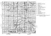 Lincoln County Highway Map 2, Lincoln County 1956