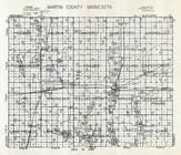 Martin County Map, Martin County 1940c Published by Fairmont Printing Company