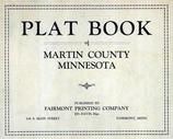 Title Page, Martin County 1940c Published by Fairmont Printing Company