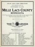 Title Page, Mille Lacs County 1914