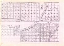Beltrami - Township 153 Ranges 30, 31, and 32, Township 154 and 155 Ranges 30 and 31, Upper Red Lake, Belle, Eland, Minnesota State Atlas 1925c