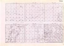 Beltrami - Township 157 Range 38, Township 158 Ranges 30, 31, 32, 33, and 34, Meadow Creek, Rapid River, Carp, Chases, Minnesota State Atlas 1925c
