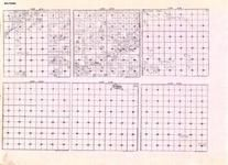 Beltrami - Township 158 Ranges 35, 36, 37, and 38, Township 159 Ranges 31 and 32, Baudette River, Mulligan Lake, Minnesota State Atlas 1925c