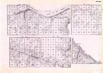 Beltrami - Township 161 Range 31, 32, 33, and 34, Township 162 Range 32 and 33, Lake of the Woods, Hackett, Baudette, Minnesota State Atlas 1925c