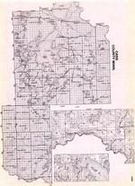 Cass County, Townships 133 and 134 Range 29, Crow Wing River, Pillager, Gull River, Sylvan, Minnesota State Atlas 1925c