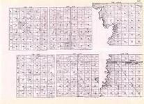 Clay - Hagen, Ulen, Oakport, Dilworth, Moorehead, Goose Prairie, Hitterdal, Keene, Red River of the North, Minnesota State Atlas 1925c
