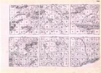Cook - Township 62 N. Ranges 1, 2, and 3 E., Township 62 N. Ranges 1, 2, and 3 W., Devil Track Lake, Cascade River, Minnesota State Atlas 1925c