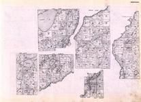 Crow Wing - Brainerd, Oak Lawn, Balter, Red Sand Lake, Gull River, Mississippi River, Whipple Lake, Redsand, Perch, Minnesota State Atlas 1925c