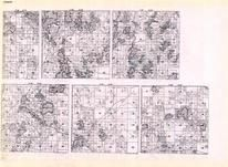 Itasca - Township 59 Ranges 22, 23, 24, 25, 26, and 27, Marcell, Round Lake, Wolf, Long, Buckman, Minnesota State Atlas 1925c