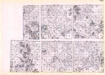 Itasca - Township 60 Ranges 22, 23, 24, 25, 26, and 27, Behroille, Marcell, Bear Lake, Jaynes, Turtle Lake, Green Rock, Minnesota State Atlas 1925c