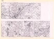 Itasca - Township 61 Ranges 22, 23, 24, 25, 26, and 27, Big Fork, Bearville, Coon Lake, Minnesota State Atlas 1925c