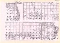 Koochiching - Bannock, Watrous, Indus, Rapid River, Rainy River, Township 158 Ranges 27 and 28, Minnesota State Atlas 1925c