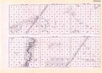 Koochiching - Gowdy, Township 155 Ranges 28 and 29, Township 156 Ranges 26, 27, and 28, Big Fork River, Minnesota State Atlas 1925c