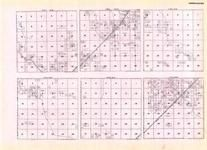 Koochiching - Township 153 Ranges 26, 27, 28, and 29, Township 154 Ranges 25 and 26, Big Falls, Minnesota State Atlas 1925c