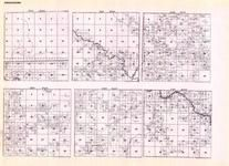 Koochiching - Township 63 Ranges 22, 23, 24, 25, and 26, Township 64 Range 22, Little Fork River, Big Fork River, Minnesota State Atlas 1925c