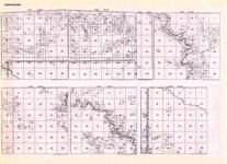 Koochiching - Township 65 Ranges 23, 24, 25, and 26, Township 66 Ranges 22 and 23, Little Fork River, Net River, Minnesota State Atlas 1925c
