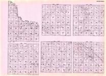 Lac Qui Parle - Providence, Maxwell, Ten Mile Lake, Camp Release, Manfred, Freeland, Boyd, Martinville, Minnesota State Atlas 1925c