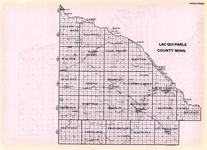 Lac Qui Parle County, Minnesota State Atlas 1925c