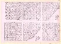 Lake - Township 55 Ranges 7, 8, 9, and 10, Township 54 Ranges 8, 9, 10 and 11, Lake Superior, Drummond, Hawlett, York, Minnesota State Atlas 1925c