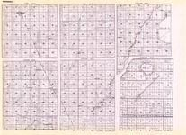 Marshall - New Solum, Excell, Agder, New Folden, Holt, East Valley, Mud Lake, Elm Lake, Stone, Rosewood, Anitasid, Hellem, Strip, Minnesota State Atlas 1925c