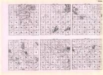 Murray - Dovray, Chanarambie, Leeds, Lowville, Masor, Murray, Lake Wilson, Great Oasis Lake, Bear Lake, Currie, Hadley, Minnesota State Atlas 1925c