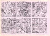 Ottertail - Hobart, Gorman, Corliss, Scambler, Dunn, Candor, Pine Lake, Pelican Lake, Lizzie, Franklin, Rice, Long, Rose, Fairy, Minnesota State Atlas 1925c