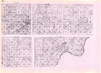 Pine - Clover, Hinckley, Barry, Arlone, Lake Lena, Rock, St. Croix River, Turpville, Minnesota State Atlas 1925c