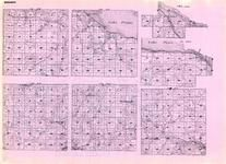 Wabasha - Chester, Gillford, West Albany, Mt. Pleasant, Lake, Wabasha, Lakey, Theilman, Zumbro Hills, Belle Chester, Reeds, Minnesota State Atlas 1925c