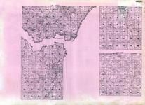Wright - Franklin, Woodland, Rockford, Victor, Delano, Rice Lake, Ruckles Lake, Oster, Dickinson, Minnesota State Atlas 1925c