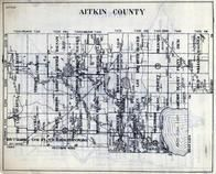 Aitkin County, Macville, Verdon, Cornish, Bain, Hebron, Libby, Turner, Balsam, Logan, Fleming, Minnesota State Atlas 1930c