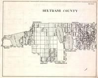 Beltrami County, Red Lake Indian Reservation, Sweet Water, Birch Island, Minnesota State Atlas 1930c