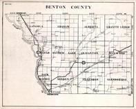 Beton County, Langola, Graham, Alberta, Granite Ledge, Minden, Minnesota State Atlas 1930c