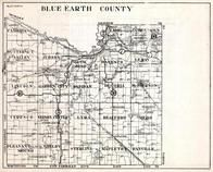 Blue Earth County, Cambria, Lime, Jamestown, Judson, Mankato, Lincoln, Garden City, Minnesota State Atlas 1930c