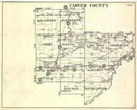 Carver County, Hollywood, Watertown, Benton, Hancock, Dahlgren, Chanhassen, San Francisco, Minnesota State Atlas 1930c