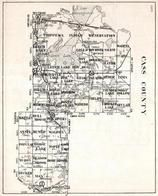 Cass County, Chippewa Indian Reservation, Leech Lake, Pike Bay, Trelipe, Minnesota State Atlas 1930c