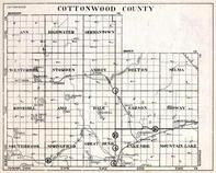 Cottonwood County, Ann, Highwater, Germantown, Westbrook, Storden, Amboy, Minnesota State Atlas 1930c