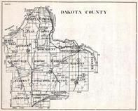 Dakota County, Egan, Greenvale, Randolph, Castle Rock, Hampton, Douglass, Eureka, Minnesota State Atlas 1930c