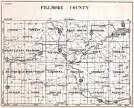 Fillmore County, Sumner, Jordan, Chatfield, Pilot Mount, Arendahl, Spring Valley, Norway, Minnesota State Atlas 1930c