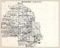 Hennepin County, Dayton, Greenwood, Maple Grove, Brooklyn, Minneapolis, Bloomington, Minnesota State Atlas 1930c