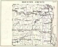 Houston County, Money Creek, Mound Prairie, Hokah, Black Hammer, Caledonia, Mayville, Minnesota State Atlas 1930c
