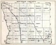 Kittson County, St. Vincent, Slow, richardville, McKinley, Caribou, Hill, Akane, Jupiter, Minnesota State Atlas 1930c