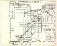 Koochiching County, Williams, Murphy, Sault, Reedy, Lindford, Meding, Wicker, Forest Grove, Plum Creek, Minnesota State Atlas 1930c