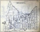 Minnesota State Map, Minnesota State Atlas 1930c