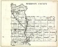 Morrison County, Motley, Rosing, Scandia Valley, Rail Prairie, Cushing, Clough, Ripley, Platte, Minnesota State Atlas 1930c
